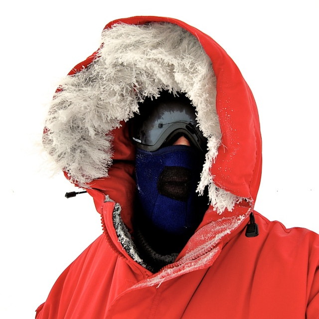 Hood at South Pole
